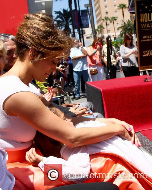 Jennifer Lopez, Emme Anthony, W Hotel Hollywood