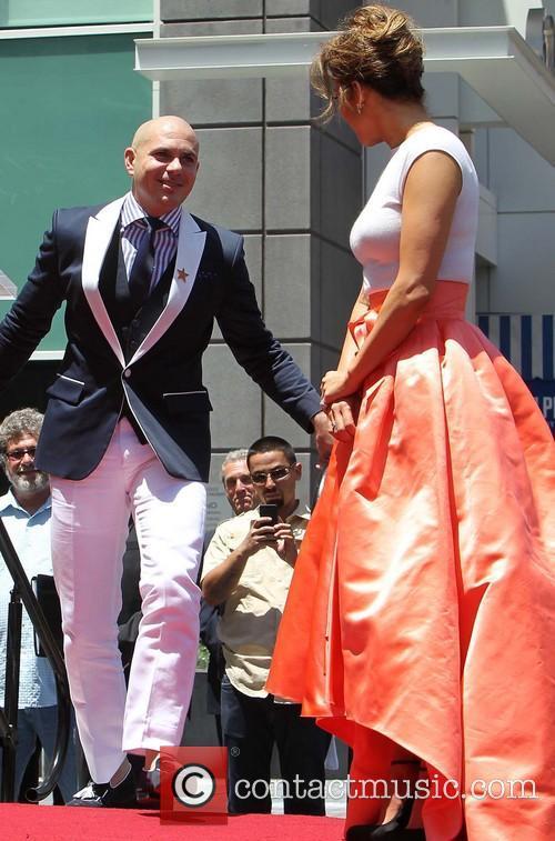 Armando Pérez Alias Pitbull and Jennifer Lopez 2