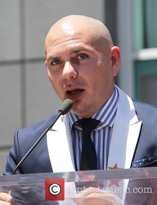 Pitbull, On The Hollywood Walk Of Fame