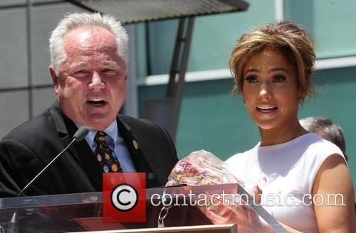Councilman Tom Labonge and Jennifer Lopez 2