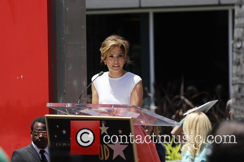 Jennifer Lopez, W Hotel Hollywood