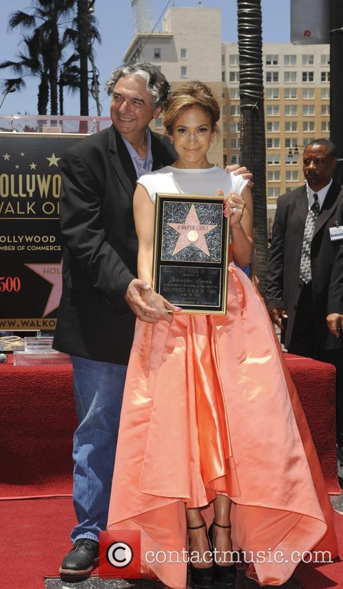 Jennifer Lopez and Gregory Nava 2