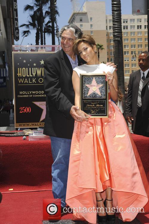 Jennifer Lopez and Gregory Nava 1