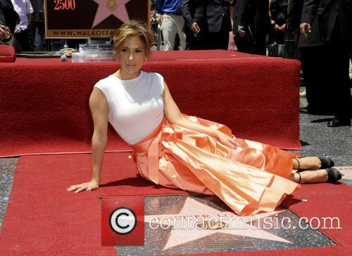 Jennifer Lopez is honoured with the 2,500th star