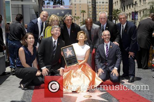 Jennifer Lopez, Pitbull, Jane Fonda, Gregory Nava, Keenan Ivory Wayans and Leron Gubler 2