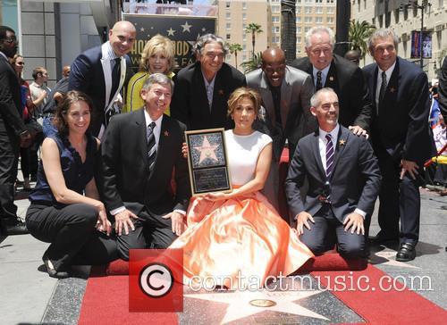 Jennifer Lopez, Pitbull, Jane Fonda, Gregory Nava, Keenan Ivory Wayans and Leron Gubler 3