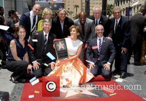 Jennifer Lopez, Pitbull, Jane Fonda, Gregory Nava, Keenan Ivory Wayans and Leron Gubler 1
