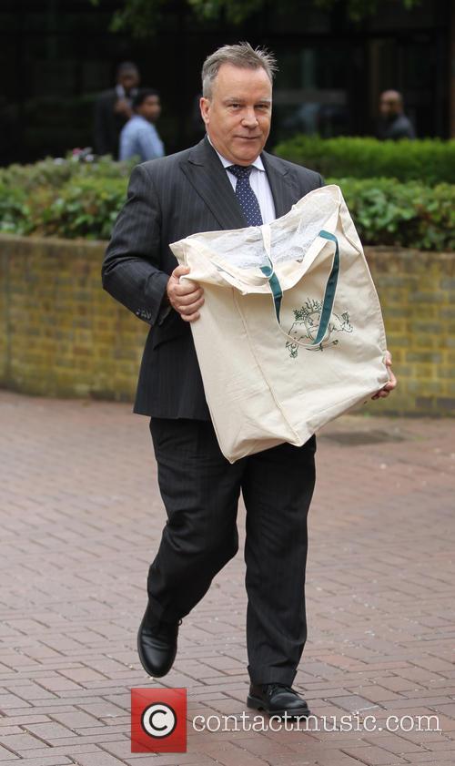 Koo Stark walks free from court