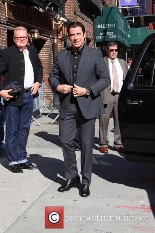 john travolta late show with david letterman 3726888