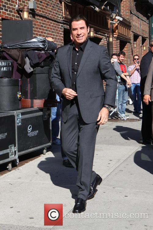 John travolta, Ed Sullivan Theater, The Late Show