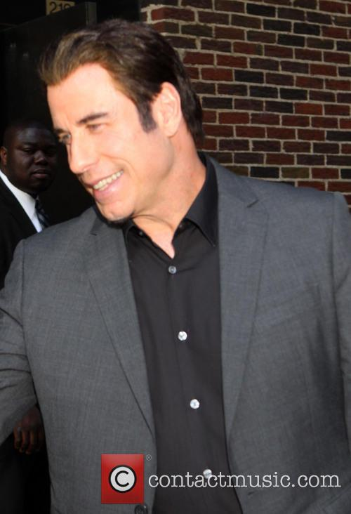 john travolta, Ed Sullivan Theater, The Late Show