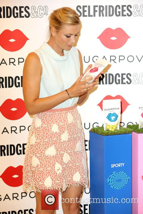 Maria Sharapova, Selfridges Sugarpova Launch