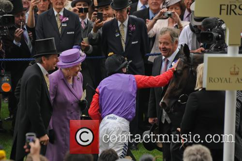 Queen Elizabeth II horse Estimate wins the Gold...