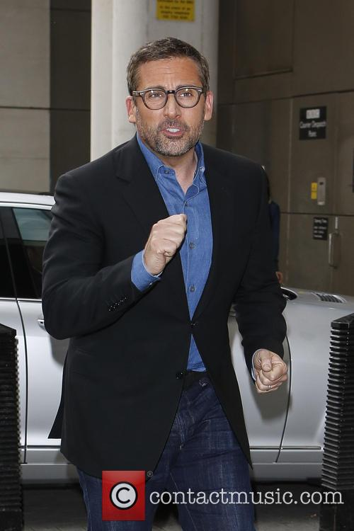 steve carell celebrities at the bbc radio 3728154