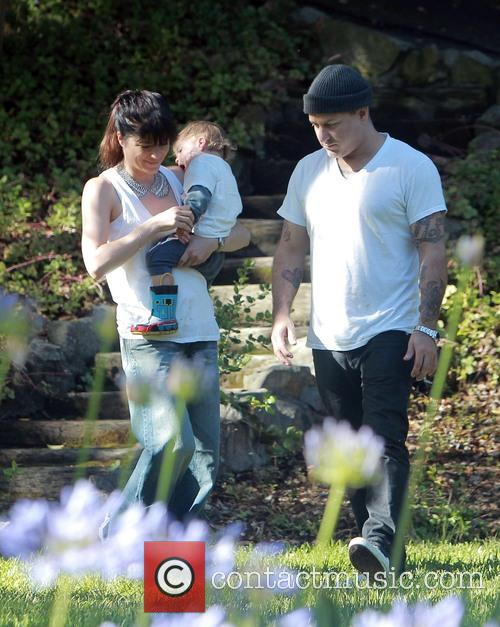 Selma Blair, Jason Bleick and Arthur Bleick 7