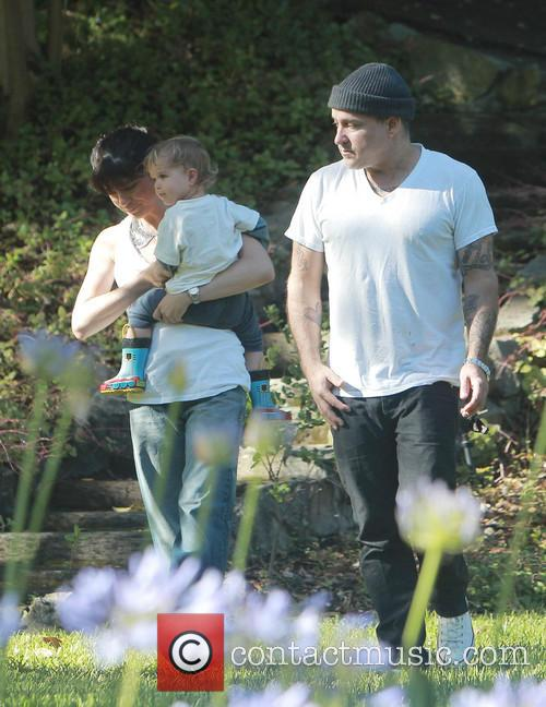 Selma Blair, Jason Bleick and Arthur Bleick 11