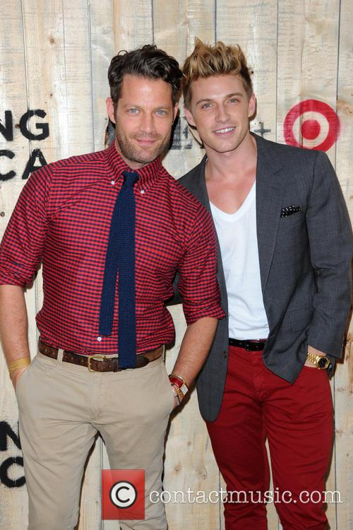 Nate Burkus and Jeremiah Brent