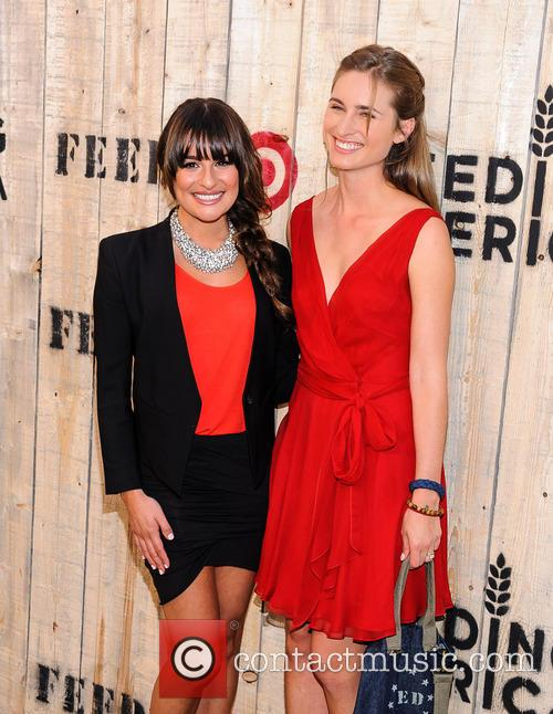 Lea Michele and Lauren Bush-Lauren 2