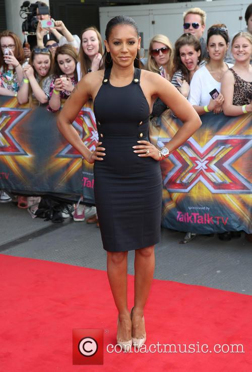mel b the x factor london auditions 4251737