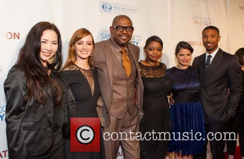Nina Yang Bongiovi, Ahna O'reilly, Michael B. Jordan, Forest Whitaker, Octavia Spencer and Melonie Diaz 3