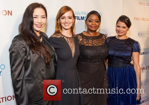 Nina Yang Bongiovi, Ahna O'Reilly, Octavia Spencer, Melonie Diaz, Grand Lake Theater