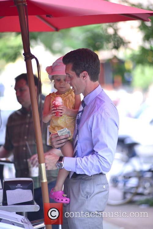 Jason Hoppy Out With His Daughter