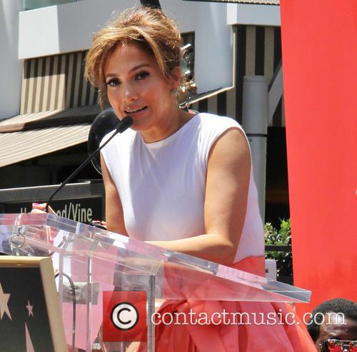 Jennifer Lopez is honoured with a star on the Hollywood Walk of Fame