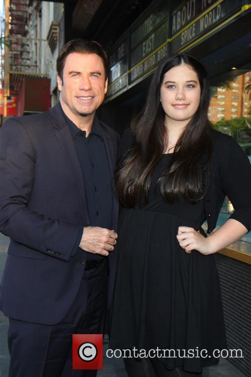 John Travolta and Ella Bleu Travolta 2