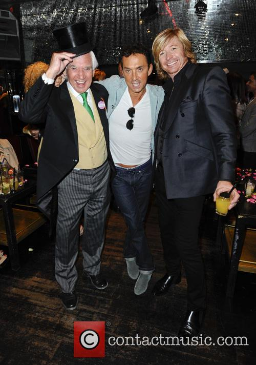 Bill Martin, Bruno Tonioli and Nick 4