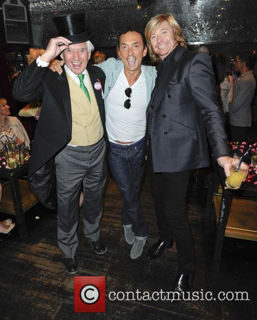Bill Martin, Bruno Tonioli and Nicky Clarke 6
