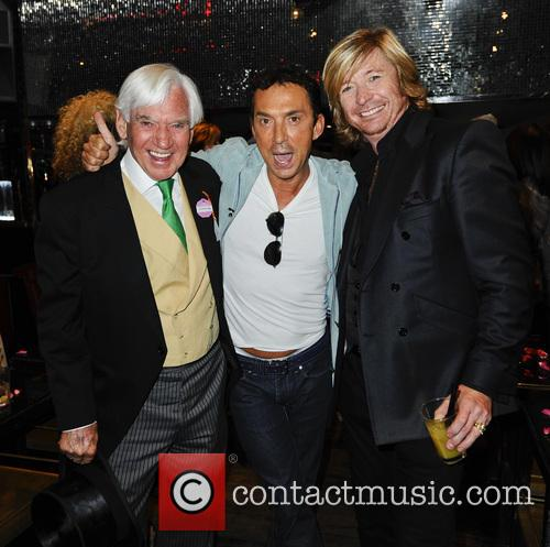 Bill Martin, Bruno Tonioli and Nicky Clarke 9