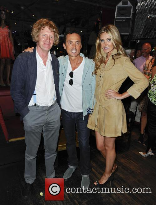 Grayson Perry, Bruno Tonioli and Kelly Simpkin 2