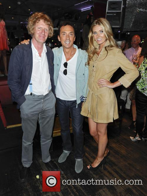 Grayson Perry, Bruno Tonioli and Kelly Simpkin 3