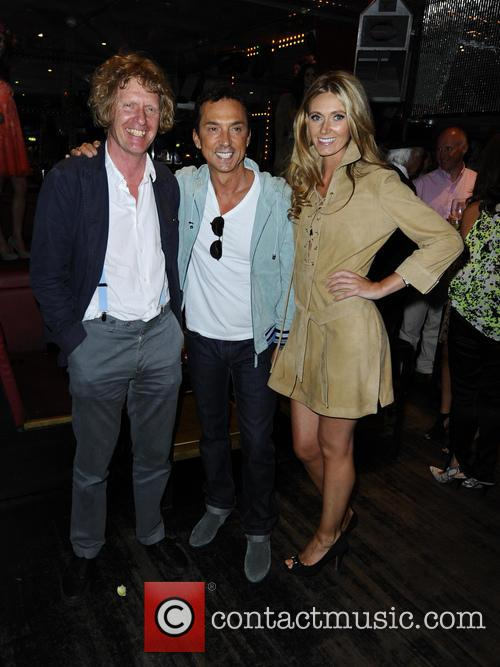 Grayson Perry, Bruno Tonioli and Kelly Simpkin 4