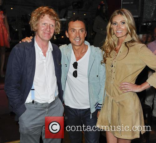 Grayson Perry, Bruno Tonioli and Kelly Simpkin 1