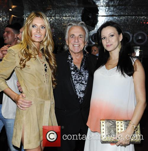 Kelly Simpkin, Peter Stringfellow and Guest 7