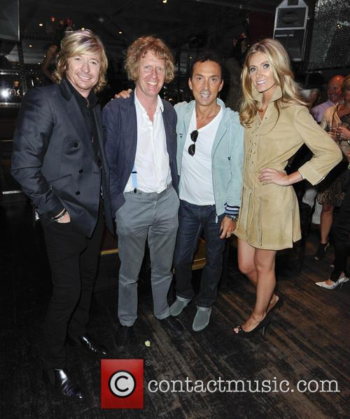 Nicky Clarke, Grayson Perry, Bruno Tonioli and Kelly Simpkin 3