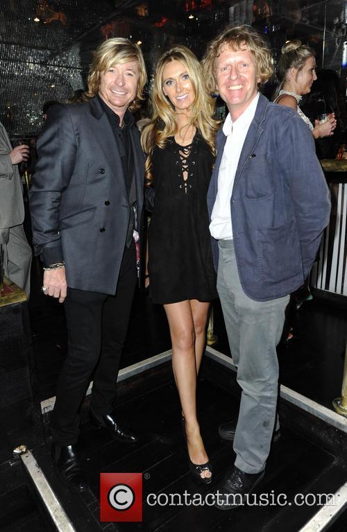 Nicky Clarke, Kelly Simpkin and Grayson Perry 1