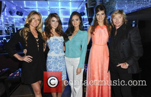 Nicky Clarke, Kelly Simpkin and Models 7