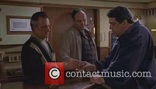 Vincent Pastore, James Gandolfini and Tony Soprano 1