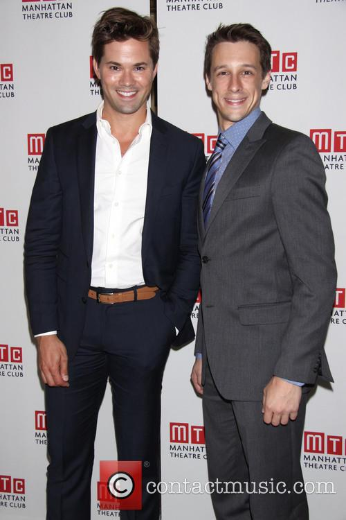 The Explorers Club, Andrew Rannells and Jason Michael Snow 2