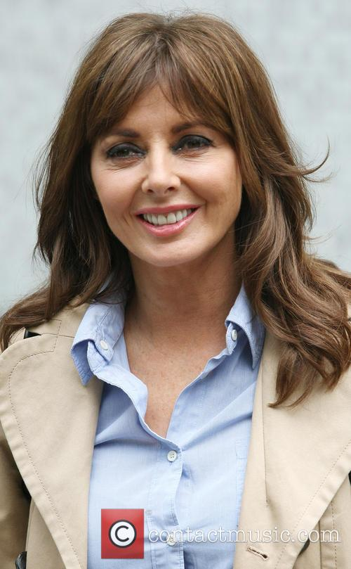 carol vorderman celebrities outside the itv studios 3729727