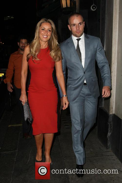 Claire Sweeney and Daniel Riley