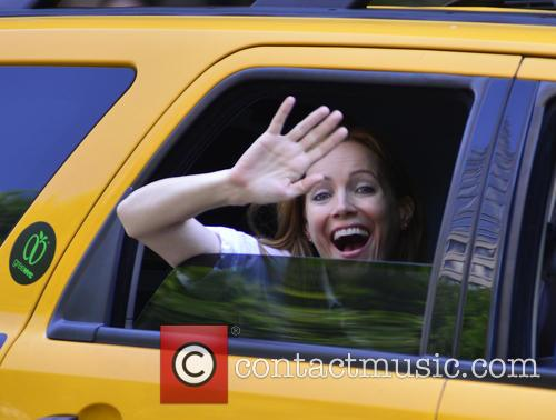 Leslie Mann and Judd Apatow in New York