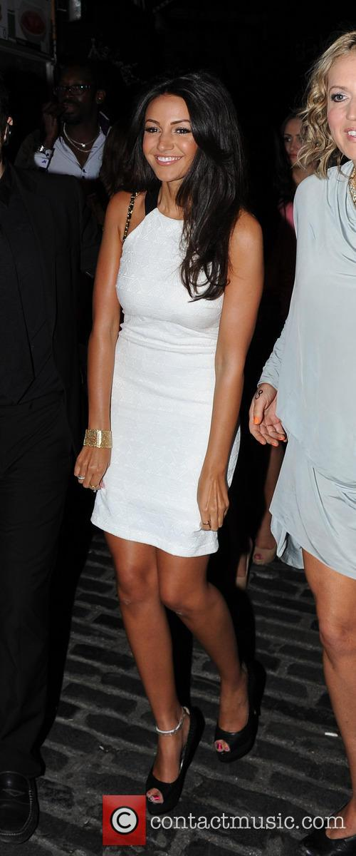 Michelle Keegan's birthday party