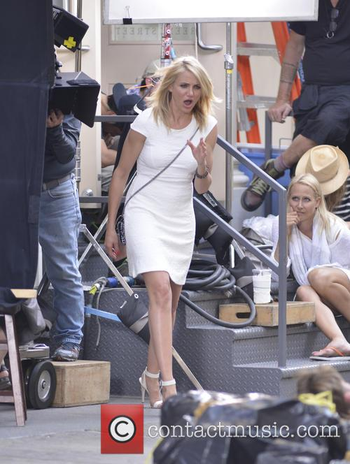 'The Other Woman' film set