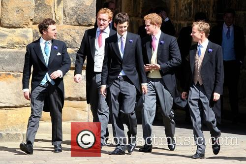 Prince Harry, Thomas Van Straubenzee and Guy Pelly 3