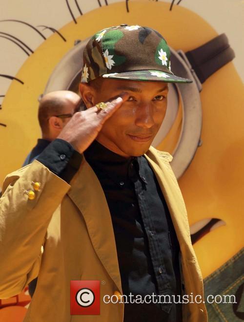 Pharrell Williams, Despicable Me 2 Premiere