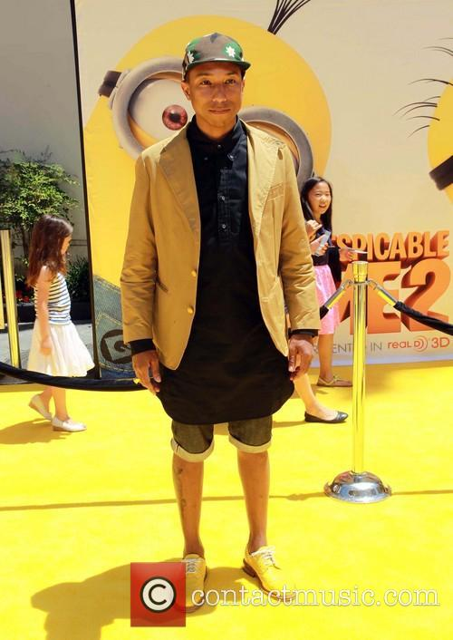 Pharrell Despicable Me 2