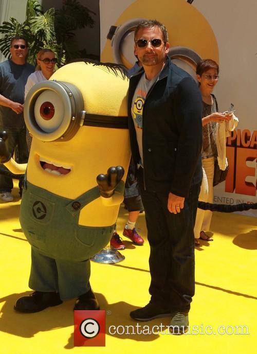 Steve Carell, Universal CityWalk, Gibson Amphitheatre